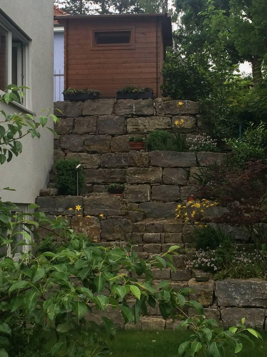Umgestaltung einer hangbefestigung in n rnberg eibach - Gartengestaltung herzogenaurach ...