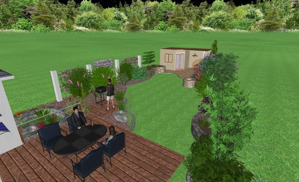 Gartengestaltung gartenumgestaltung in veitsbronn for Gartengestaltung 3d